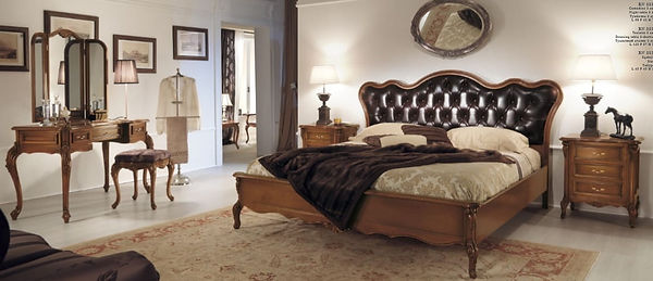 Итальянская спальня benedetta из массива дерева