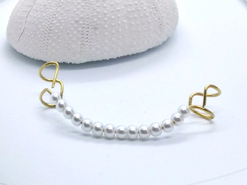 'Ear Climber Pearls'