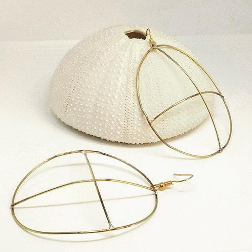 'Celtic Cross earrings'