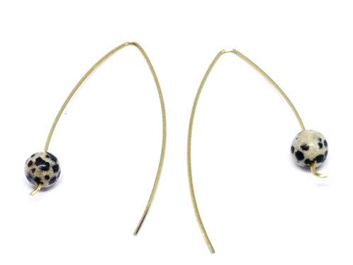'V Earrings'