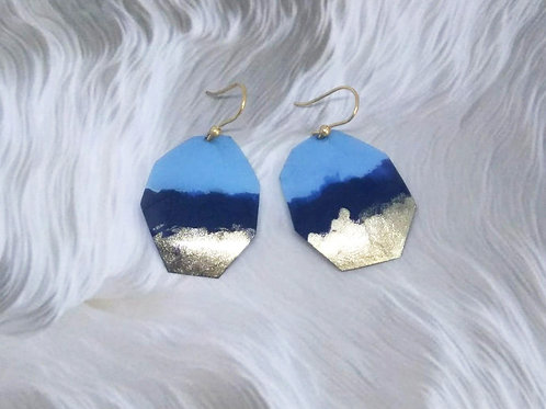 'NIGHT BLUE EARRINGS'