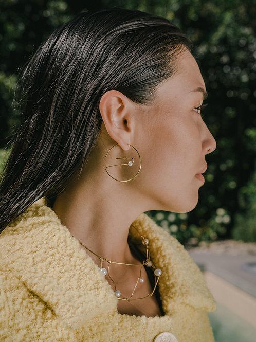 'Round Hoop Earrings'