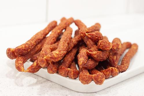 Dried kabanos sticks