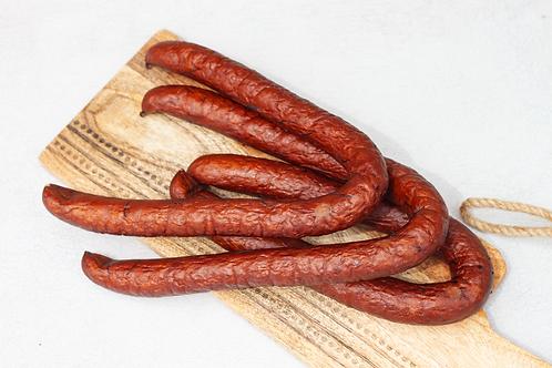 Double smoked sausage