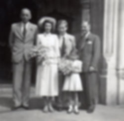 Doreen and David wedding day July 1950.j