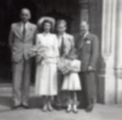 Doreen and David wedding day July 1950.j