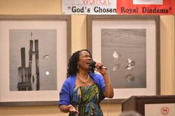 Dr. Sabrina Belton ushers in worship