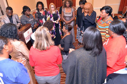 The Women of God gather