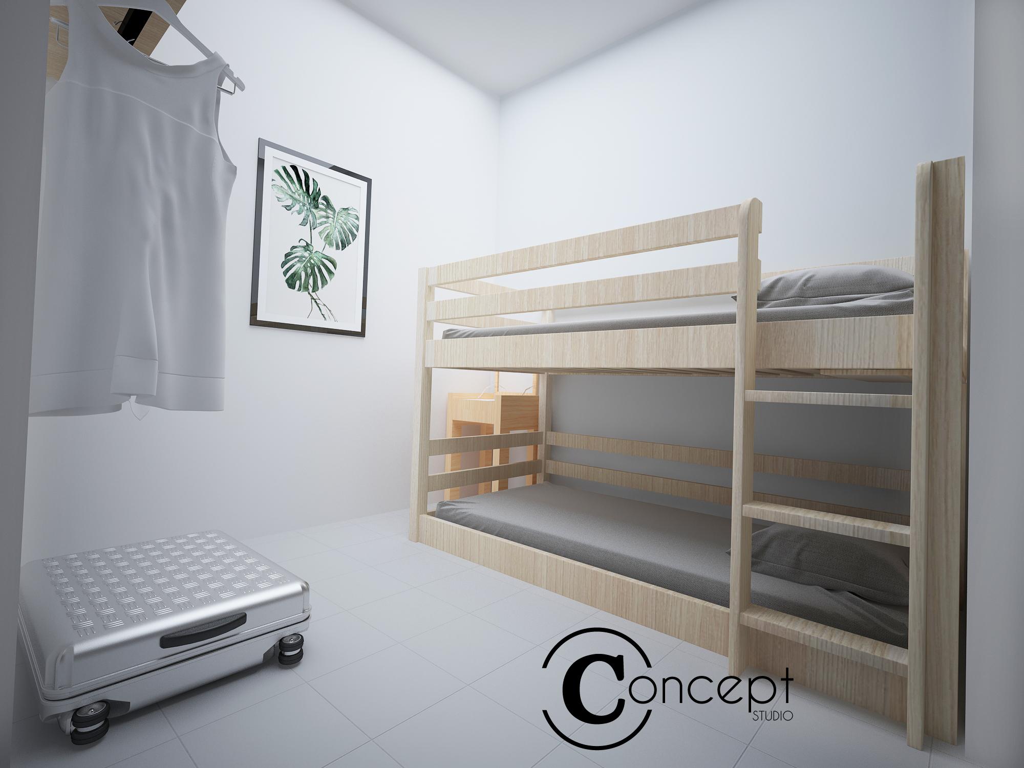 Alpine bedroom 2