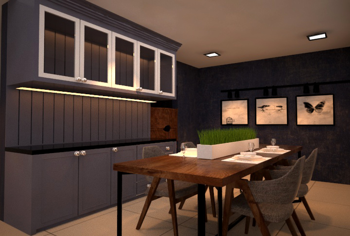 7 dining area