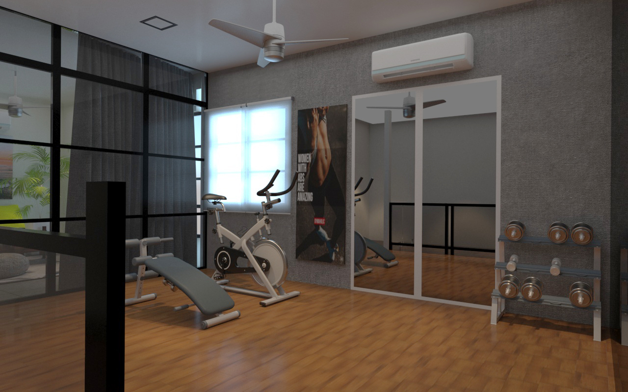 FIRST FLOOR GYM ROOM -1
