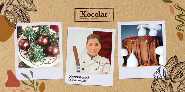 Aprende a decorar tus postres navideños con Xocolat