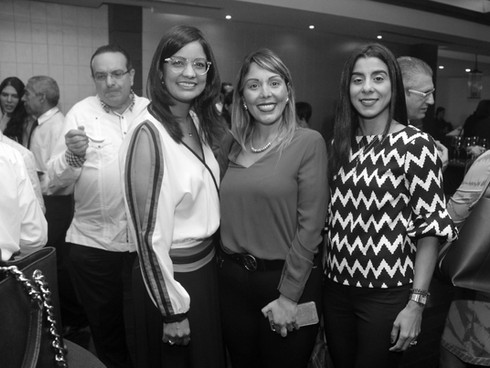 Claudia Gomez, Carmen de los Santos y Leyla Alfonso