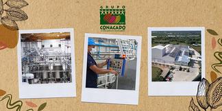 Tour de la planta procesadora de CONACADO