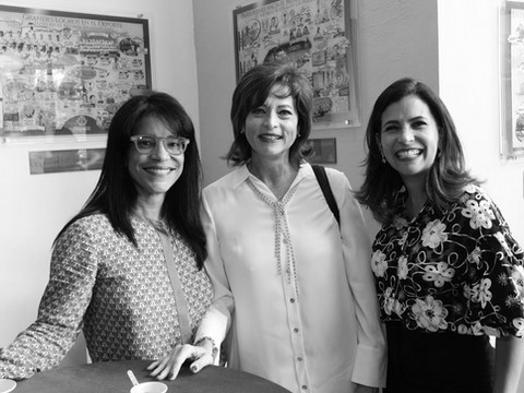 Soraya Pina, Nonora Elmudesi y Rossanna Camarena