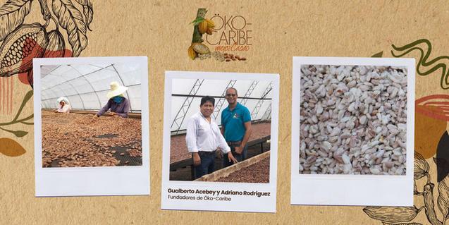 Tour de las instalaciones de manejo pos-cosecha de Öko-Caribe.