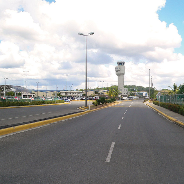 Vía de acceso Aeropuerto el higüero