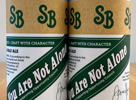 YOU ARE NOT ALONE - A BEER TO SUPPORT OPPORTUNITY COUNCIL