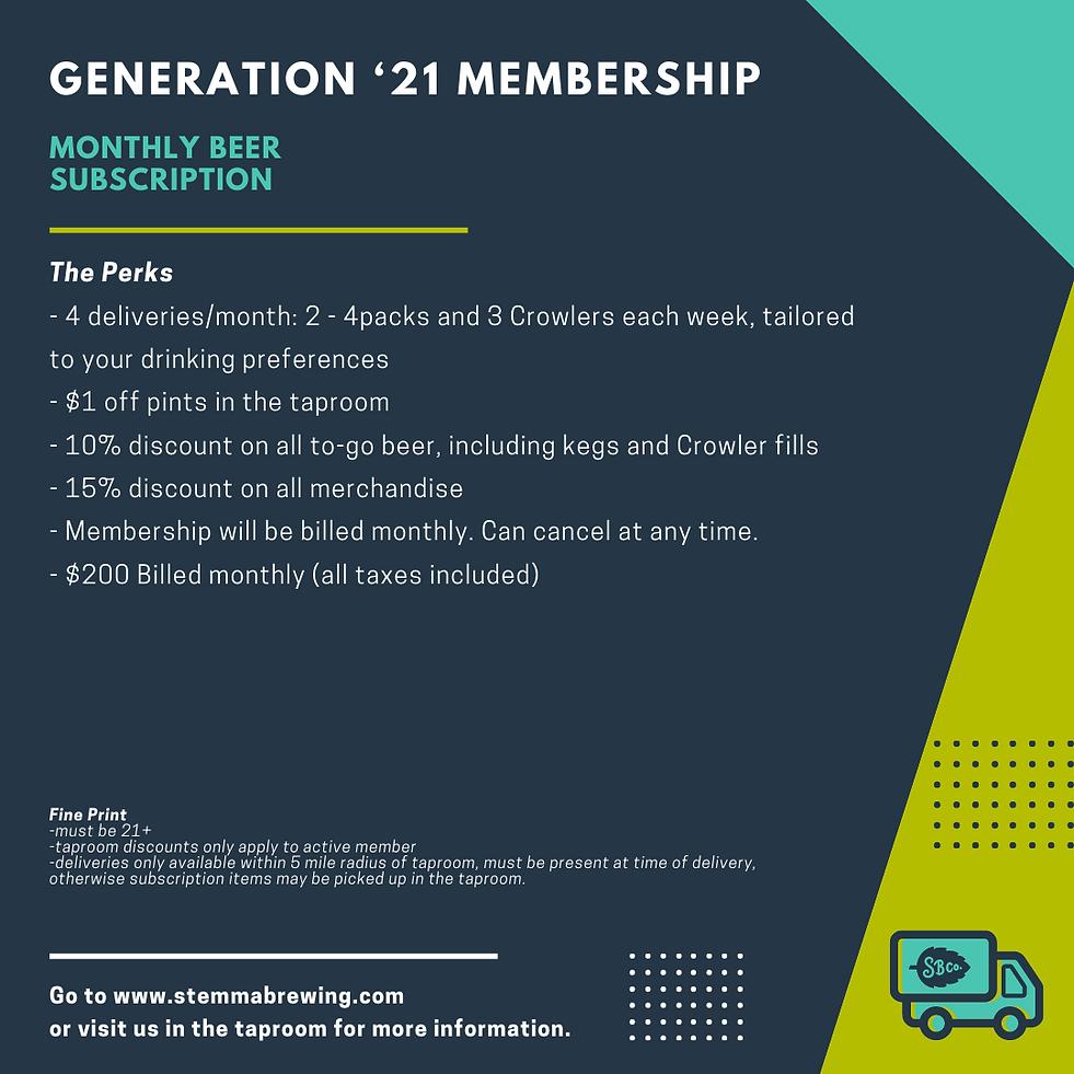 Gen '21 Monthly Subscription_Square Grap