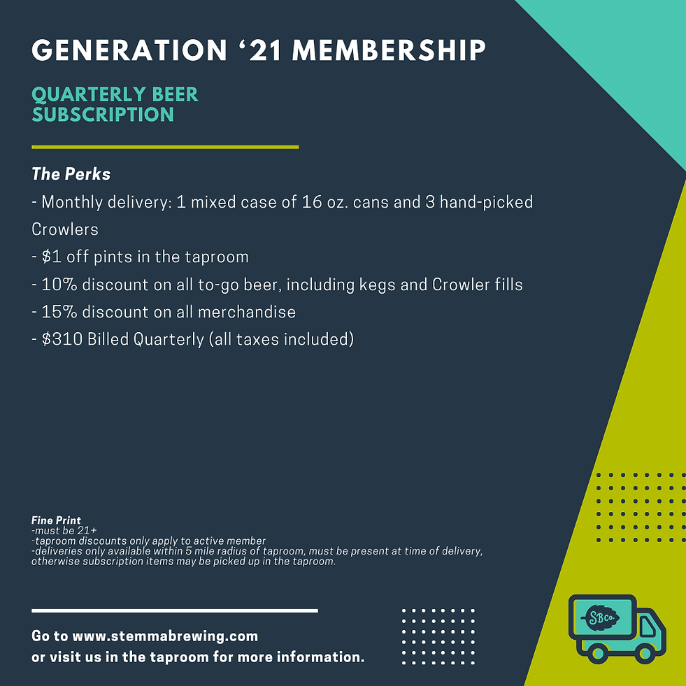 Gen '21 Quarterly Subscription_Square Gr
