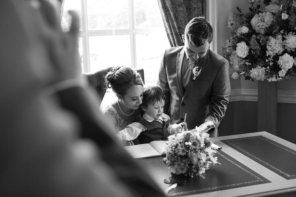 Rhi & Andrew's Cardiff City Hall Wedding Photo