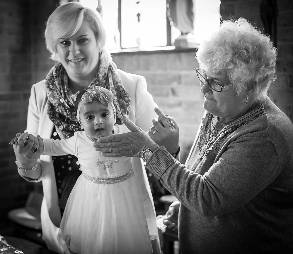 Maya's Baptism photos - London Baptism & Christening photography