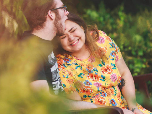 Abi & Mathew's pre-wedding photoshoot - Cardiff engagement photography