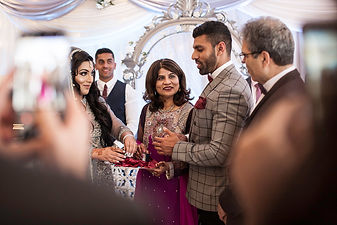 Contemporary Asian wedding photography in Cardiff