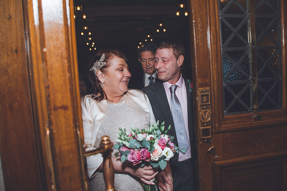 Michelle & Simon's Cardiff City Hall wedding photo, wedding photography by Taz Rahman