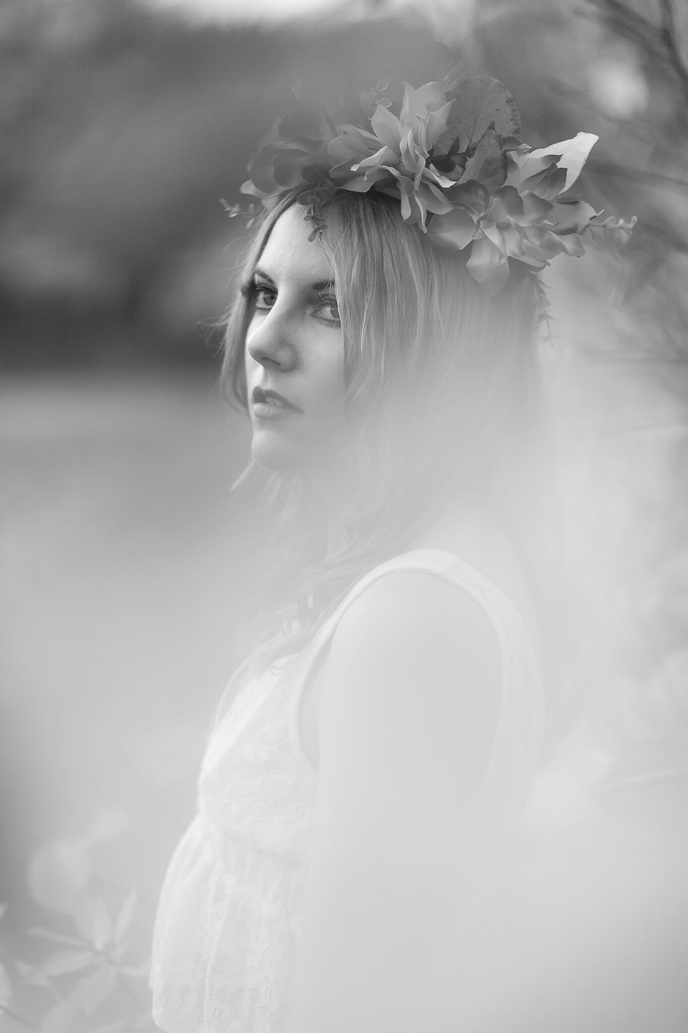 Cardiff bridal inspiration styleshoot portraits by 'Weddings by Taz' Photography