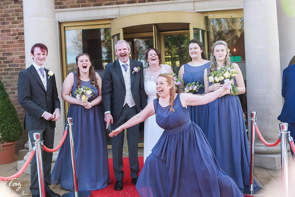 Ceri & Simon's wedding at De Courceys Manor, Cardiff Wedding Photography