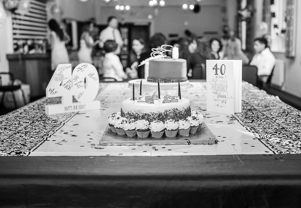 40th birthday party photography - London event photographer