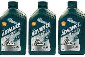 Shell Advance Racing M - Pack of 3 x 1 litre