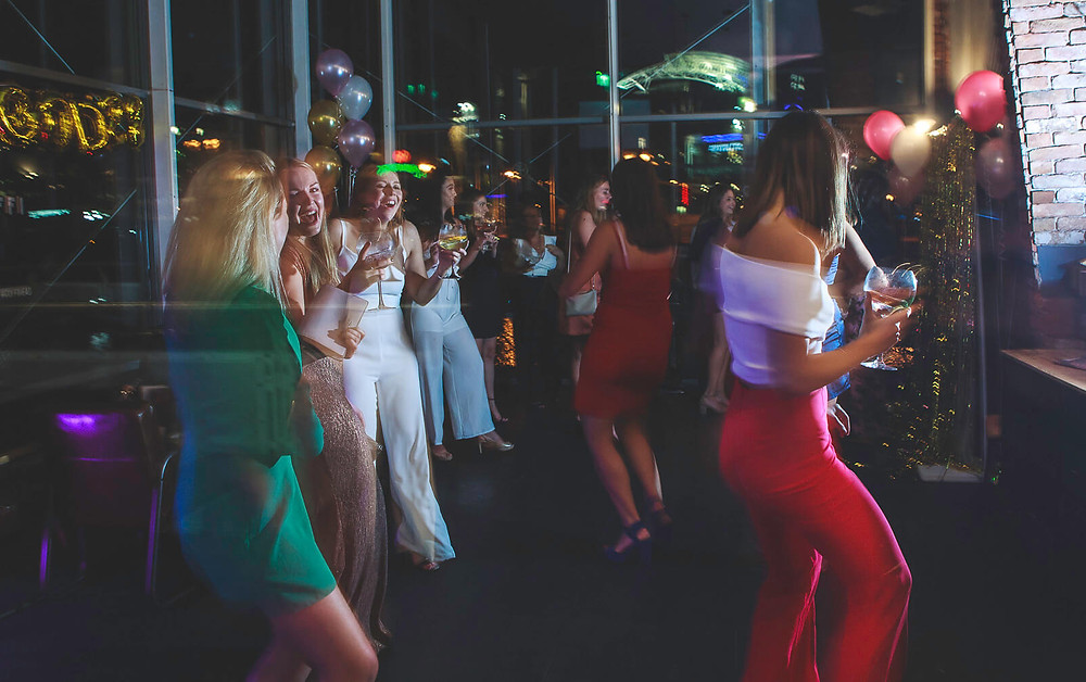 Ellie's 21st Cardiff birthday party photos, Coffi Co Lounge Mermaid Quay - Photography by Taz Rahman, South Wales party events photographer  #coffico #coffipopup