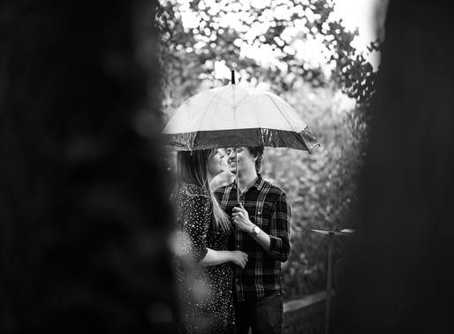 Bronwyn & Richard pre-wedding photoshoot - Cardiff engagement photography