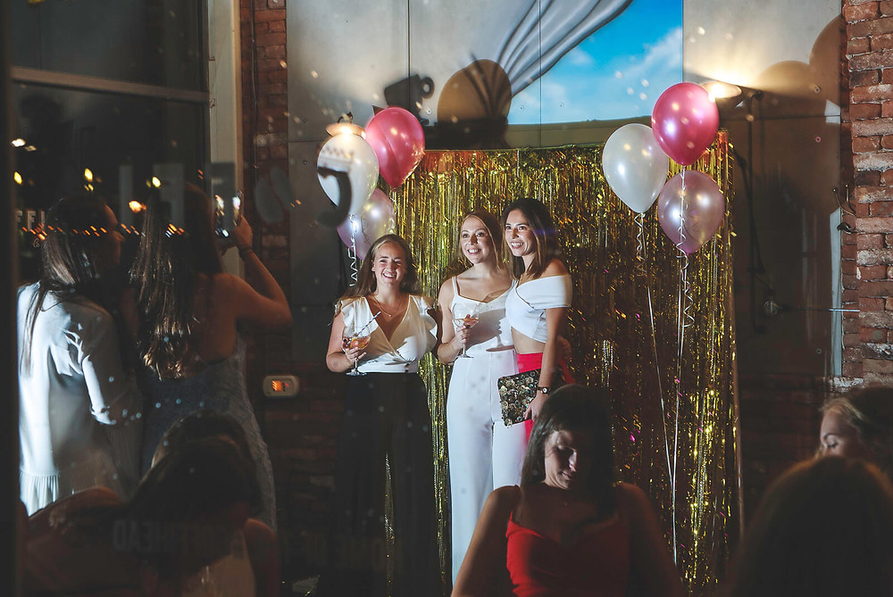 Ellie's 21st Cardiff birthday party photos, Coffi Co Lounge Mermaid Quay - Photography by Taz Rahman, South Wales party events photographer