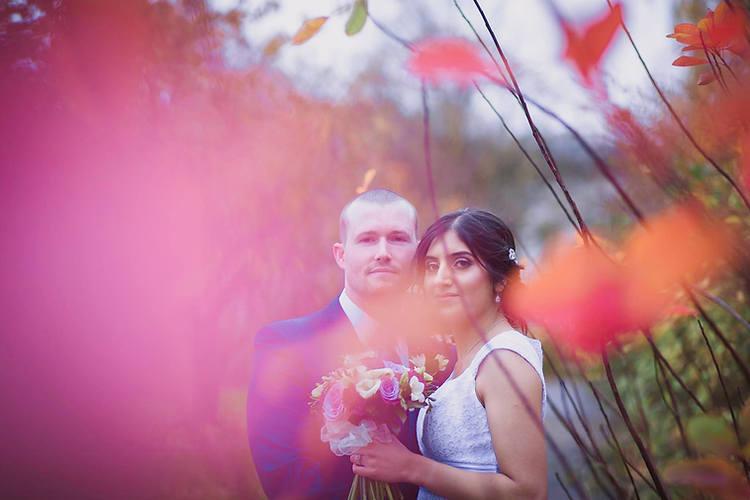 Tasha & Chris Cardiff City Hall Wedding Photo