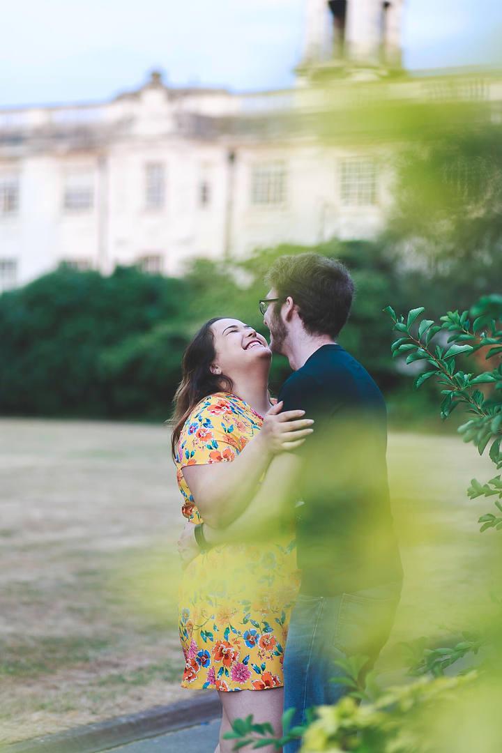 Abi & Mat Cardiff Engagement Photoshoot