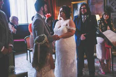 Bronte Sam St Fagans Castle Cardiff wedding photography