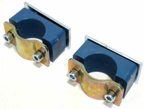 Rotax Battery Holder Tube Clamp Set