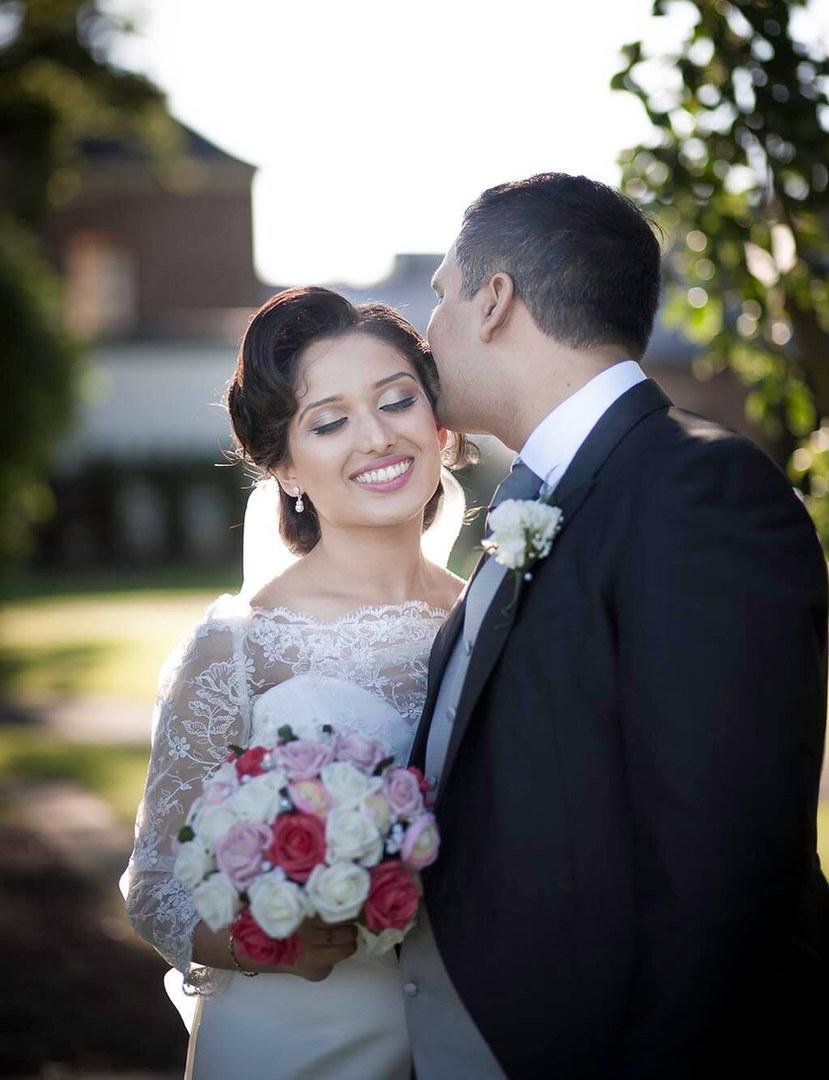 Naiya & Dilan Asian Wedding Photo, South Wales