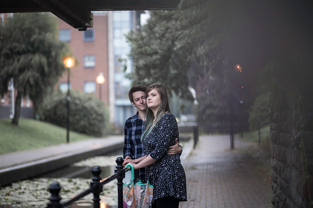 Bronwyn & Richard's pre wedding photoshoot in Cardiff, by Taz Rahman wedding photographer