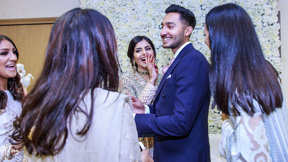 Salma and Sam Asian Nikkah photo, St Fagans Village Hall, wedding photography by 'Weddings by Taz', South Wales