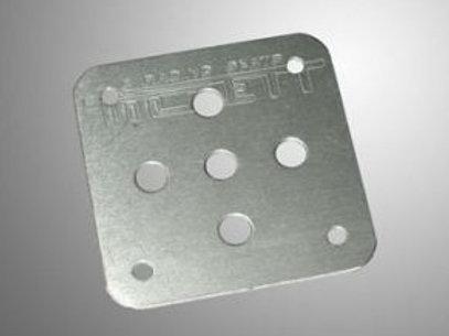 Tillett Alloy Seat Reinforcement Plates - Pair