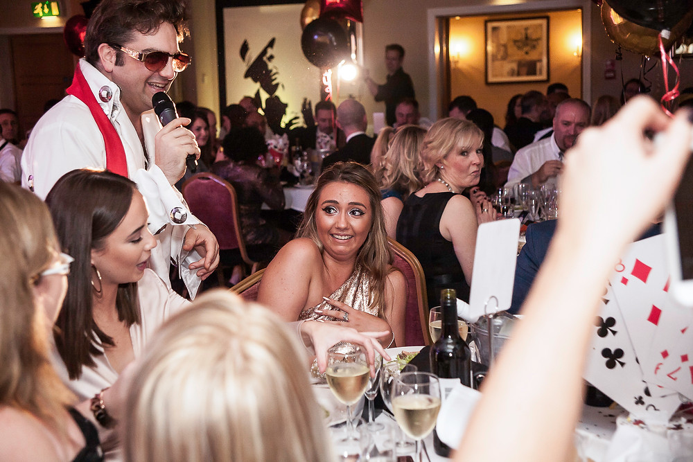Central London Corporate event photos - Office Christmas party photography by Taz Rahman