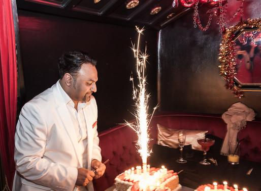 Pradeesh's 40th birthday party - The Aviary, London birthday photography