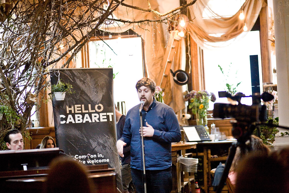 Cardif event photography at Sunflower & I for 'Hello Cabaret'