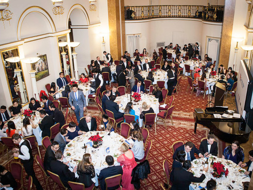 Lansdowne Club fundraiser event - London corporate event photography