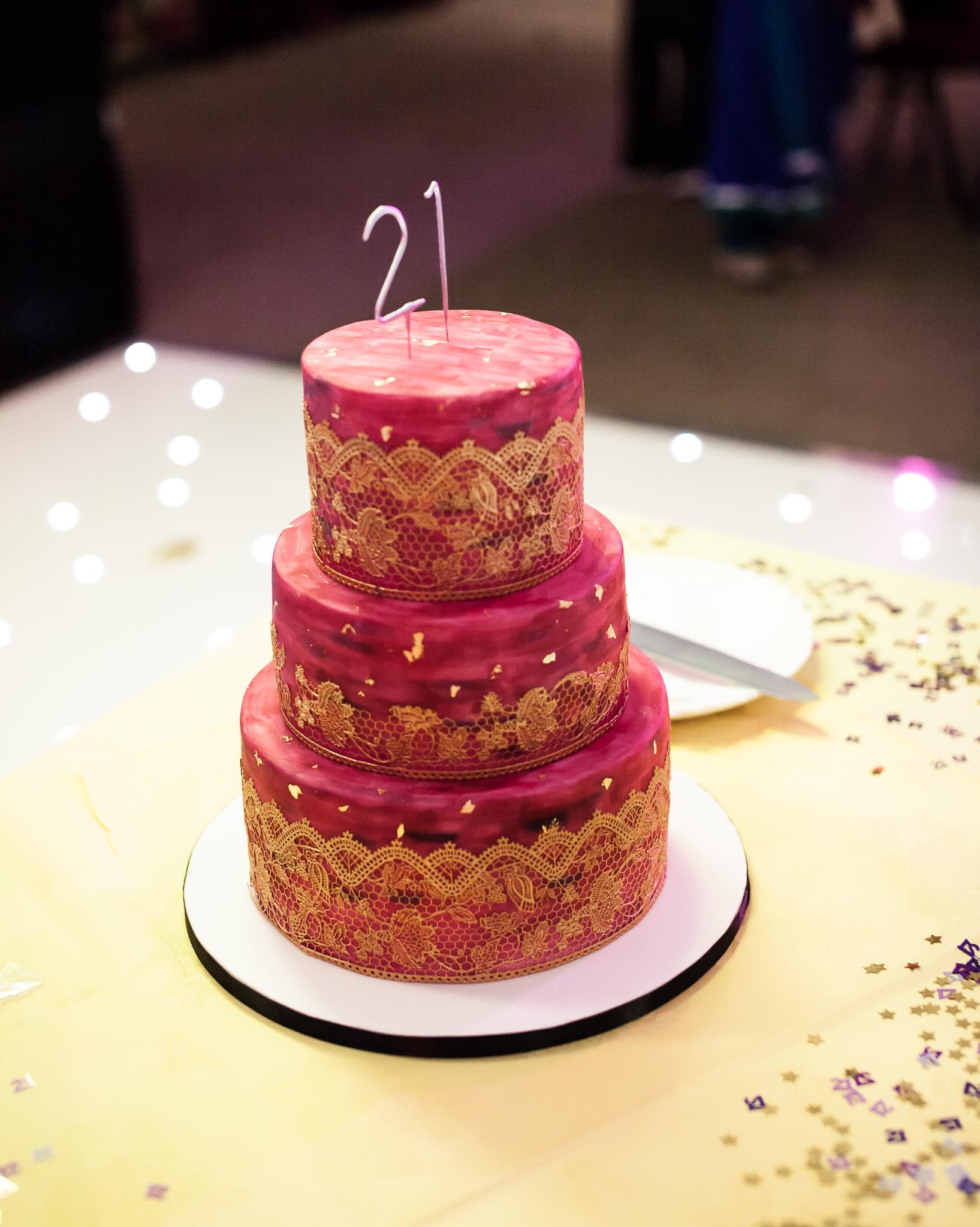 21st birthday party, London