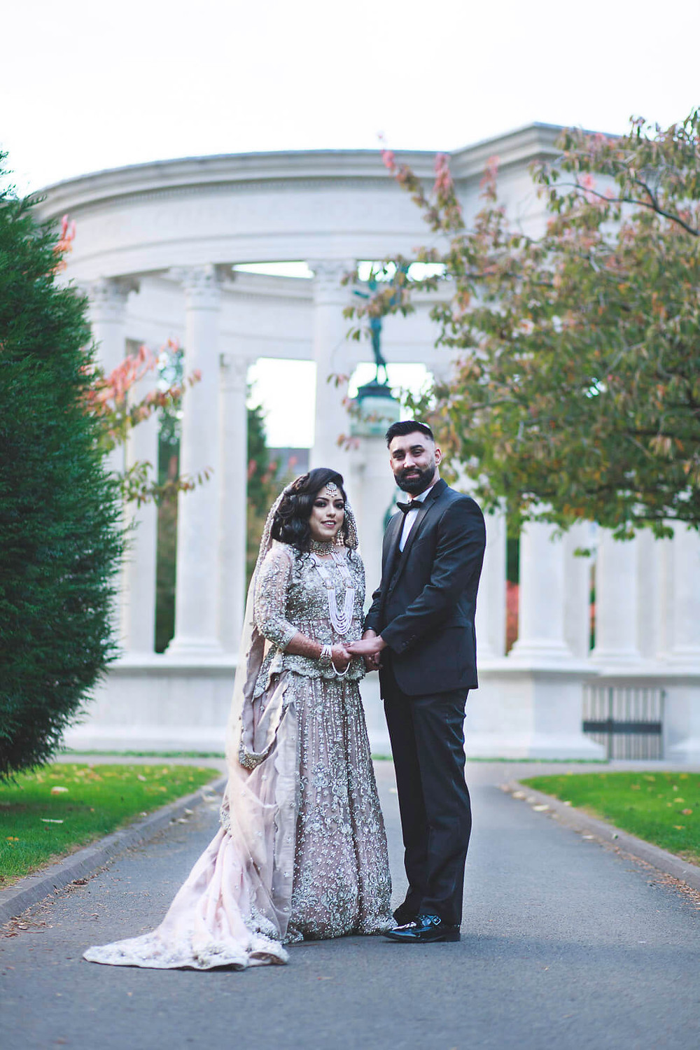 Purva & Wasif's Muslim wedding photo in Cardiff, South Wales | Wedding Photography at Cardiff City Hall